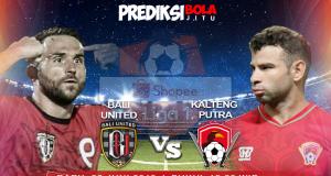 Bali United Vs Kalteng Putra