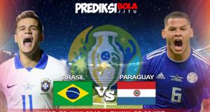 BRASIL VS PARAGUAY (PEREMPAT FINAL)