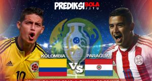 Kolombia Vs Paraguay Copa America