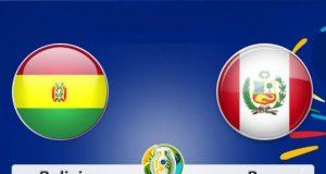 Bolivia Vs Peru Copa America 2019