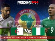 Aljazair Vs Nigeria