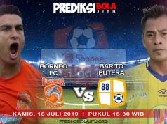 Borneo FC vs Barito Putera