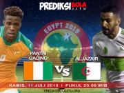 Pantai Gading Vs Aljazair
