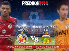 Semen Padang vs Bhayangkara FC