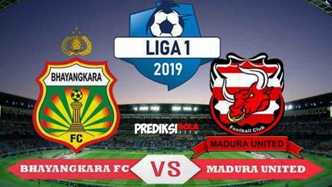 bhayangkara fc vs madura united
