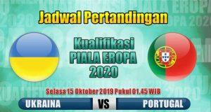 Ukraina vs Portugal