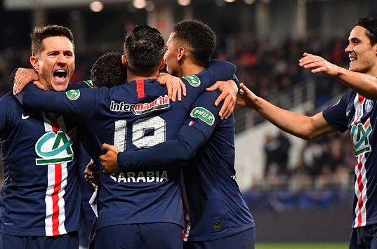 Hasil Pertandingan Dijon vs PSG