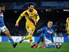 Hasil Napoli vs Barcelona