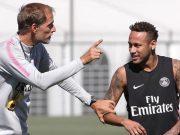 Thomas Tuchel dan Neymar
