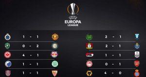 Hasil Lengkap Babak 32 Besar Leg ke 1 Liga Europa